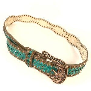 Western belt embellished